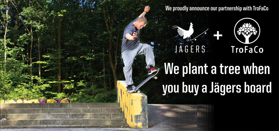 Buy a board and we plant a tree